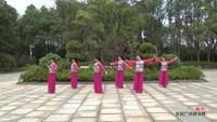 望蝶飛舞廣場舞 國韻 表演 完整版演示及口令分解動作教學