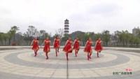 宜春上高敖阳东门金缘广场舞 赞歌 表演附正背面口令分解教学演示