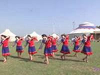 內蒙古上都之韻玲瓏廣場舞 今生相愛 表演 原創附教學口令分解動作演示