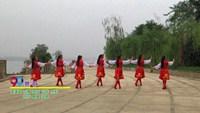 长沙市广场舞协会乐翼经络操广场舞 赞歌 表演 正背面演示及慢速口令教学