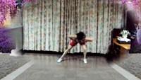 蓝色天使劲爆街舞【情不自禁爱上你】原创附分解动作正背面演示及口令分解动作教学