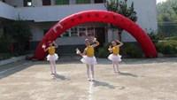 棉津廣場舞重陽節《小蘋果》附正背表演口令分解動作分解教學