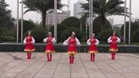 郴州珍兒姐妹廣場舞 雪蓮 表演 正背面演示及口令分解動作教學