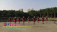 廣西南寧市鄉塘區舞動快樂健身隊廣場舞   最幸福的人 表演 團隊版 正背面口令分解動作教學演示