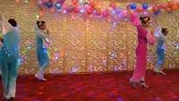 肖玲舞蹈《落花的窗台》正背面演示及口令分解动作教学和背面演