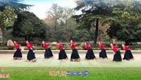 湖北大悟共炯共炯舞隊《穿行》編舞:応子正反面演示及分解動作教學