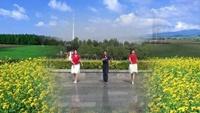 香子廣場舞《冰雪天堂》經典正背面演示及口令分解動作教學