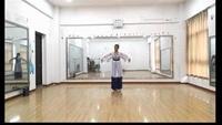 千江飞雪演绎古典舞《葬花吟》 编舞:王一斐完整版演示及口令分解动作教学