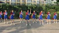 健康一生廣場舞 9人變隊形花球舞《中國歌最美》附正背表演口令分解動作分解教學
