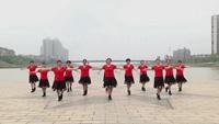 湖南湘乡舞欢同乐队舞蹈  心里藏着你 表演 个人版附正背面口令分解教学演示