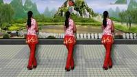 原野明珠廣場舞《今生相愛》表演原野明珠口令分解動作教學演示
