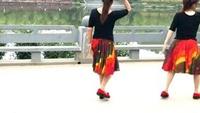 蘇州盛澤雨夜廣場舞《你在這里我在哪里》口令分解動作教學演示