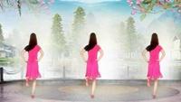 李楠楠舞蹈《DJ放不下的情缘》编舞:花飞情雪正背面演示及慢速口令教学