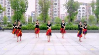 唯愛開心就好  蘇州盛澤雨夜廣場舞  夢中戀人正背面口令分解動作教學演示