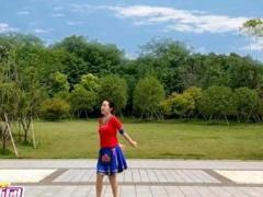 應子廣場舞 《貴州放歌》(苗族風情,含教學)正背面演示及口令分解動作教學