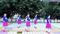 謝春燕廣場舞(竹籬笆外野菊花)完整版正背面演示及慢速口令教學