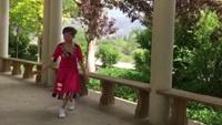 盛澤雨夜廣場舞《藍色天夢》原創,表演:海棠舞蹈隊附正背表演口令分解動作分解教學