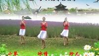 蘇州盛澤雨夜廣場舞《想你想不夠》習舞-高橋3姐妹正背面口令分解動作教學演示