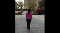 《因為愛著你》分解.編舞:楊麗萍正背面演示及口令分解動作教學和背面演