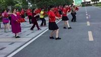 清江錦城舞動璽園舞蹈隊習舞《拜新年》201705附正背表演口令分解動作分解教學