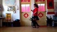 馬學春廣場舞《最幸福的人》口令分解動作教學演示