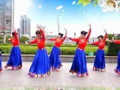 吉美廣場舞《吉祥歡歌》原創藏族舞 附教學正反面演示及分解動作教學