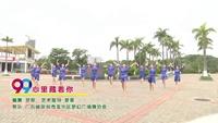 广东省深圳市龙华区梦幻舞蹈协会 心里藏着你 表演 团队版 完整版演示及口令分解动作教学