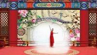 河南凌燕廣場舞古典舞《國韻》編舞王梅習舞旅途正背面演示及慢速口令教學