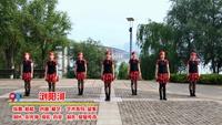 湘潭儷影廣場舞 瀏陽河 表演 團隊版 正反面演示及分解動作教學