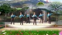 銅陵市瑤湖公園廣場舞《因為愛著你》正背面演示及慢速口令教學