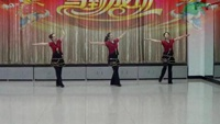 大慶奧林廣場舞《問候你》經典正背面演示及口令分解動作教學
