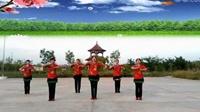 原野明珠廣場舞《我愛廣場舞》表演原野明珠舞蹈隊完整版演示及分解教學演示