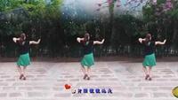 簡艷廣場舞《花樓戀歌》編舞:簡畫正背面演示及口令分解動作教學