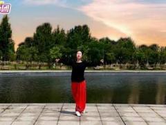 應子廣場舞《多想在草原遇見你》(含教學)正背面演示及口令分解動作教學
