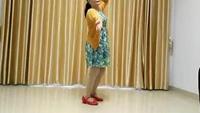 長塘村馨安廣場舞《藍月谷》正背面演示及慢速口令教學