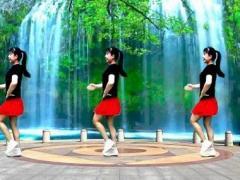 四川蓉蓉廣場舞《山水唱情歌》原創32步入門水兵舞完整版演示及口令分解動作教學