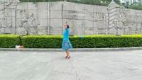 藍色天夢   編舞:雨夜 習舞:牡丹仙子正背面演示及口令分解動作教學