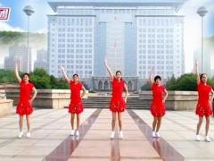 金燦燦廣場舞《因為愛著你》原創大眾健身舞附教學正背面演示及慢速口令教學