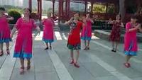長塘村馨安廣場舞《問候你》原創附正背面教學口令分解動作演示