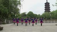 江苏省丹阳市常乐舞蹈队舞蹈 心里藏着你 表演 团队版 完整版演示及口令分解动作教学