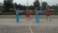 蘇州盛澤雨夜廣場舞《微風細雨》口令分解動作教學
