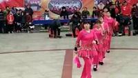開州精英舞蹈隊表演:單扇舞《大辮子》隊形版口令分解動作教學演示
