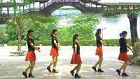 廣州飛雪廣場舞《哥哥妹妹》正背面演示及口令分解動作教學