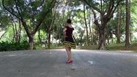 嬌娜廣場舞《最幸福的人》背面演示 編舞 楊麗萍完整版演示及口令分解動作教學
