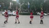 湖南茶陵冬姣廣場舞《天越藍我就越想你》雙人水兵舞原創附教學口令分解動作演示