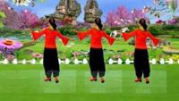蘭艷艷廣場舞《今生相愛》編舞鳳皇六哥完整版演示及分解教學演示