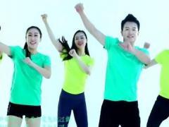 王廣成健身舞《海草舞》正反面演示及分解動作教學