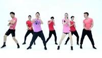 王廣成廣場舞《癡情玫瑰花》甜蜜健身舞口令分解動作教學演示