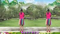 廣西青青廣場舞《你幸福我才快樂》編舞雨夜正背面演示及口令分解動作教學