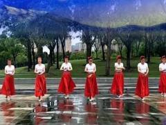 芳华岁月原创蒙舞风《锡林郭勒的星星》团队版附教学口令分解动作教学